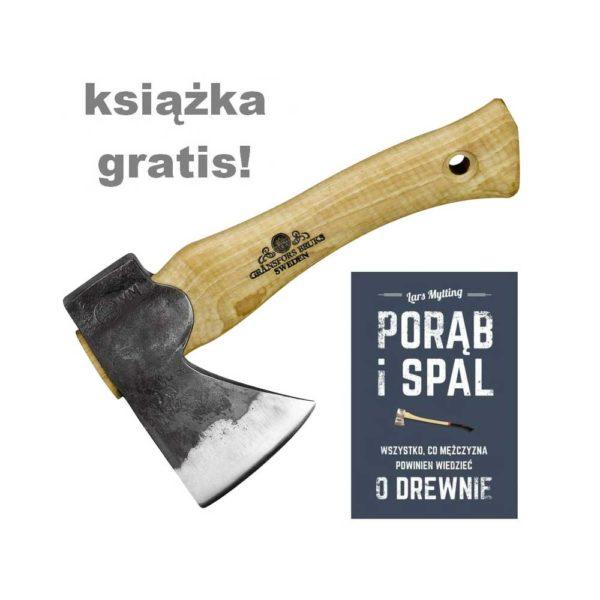 Siekiery i toporki do łupania drewna - Toporek GRÄNSFORS BRUK 413