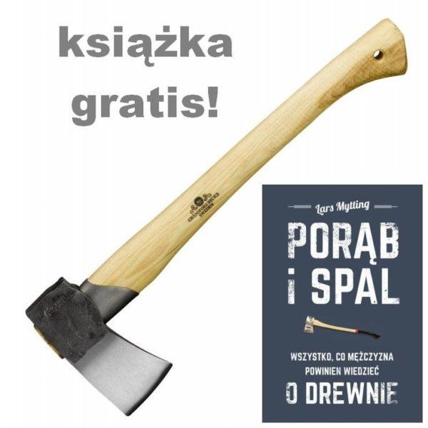 Sprzęt leśny - siekiery - Siekiera do łupania GRANSFORS BRUK 439