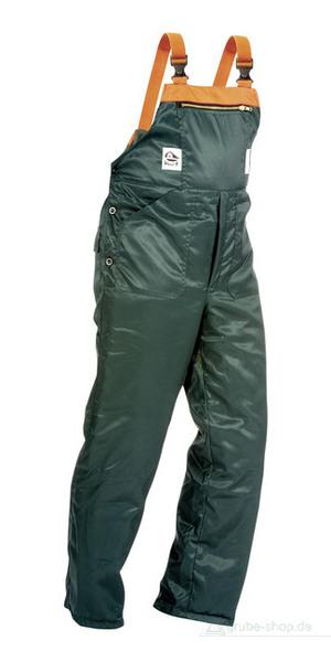 Narzędzia leśne - odzież ochronna - Spodnie z wkładką przeciwprzecięciową