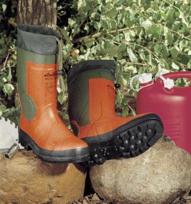 Narzędzia leśne - buty ochronne - Buty gumowe NOVESTA Light z wkładką przeciwprzecięciową