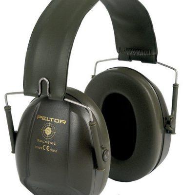 Narzędzia leśne - ochronniki słuchu - Nauszniki przeciwhałasowe 3M™ Peltor™ BULL's EYE I składane, zieleń wojskowa