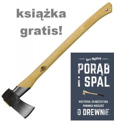 Sprzęt leśny - siekiery - Siekiera do łupania GRÄNSFORS BRUK 442
