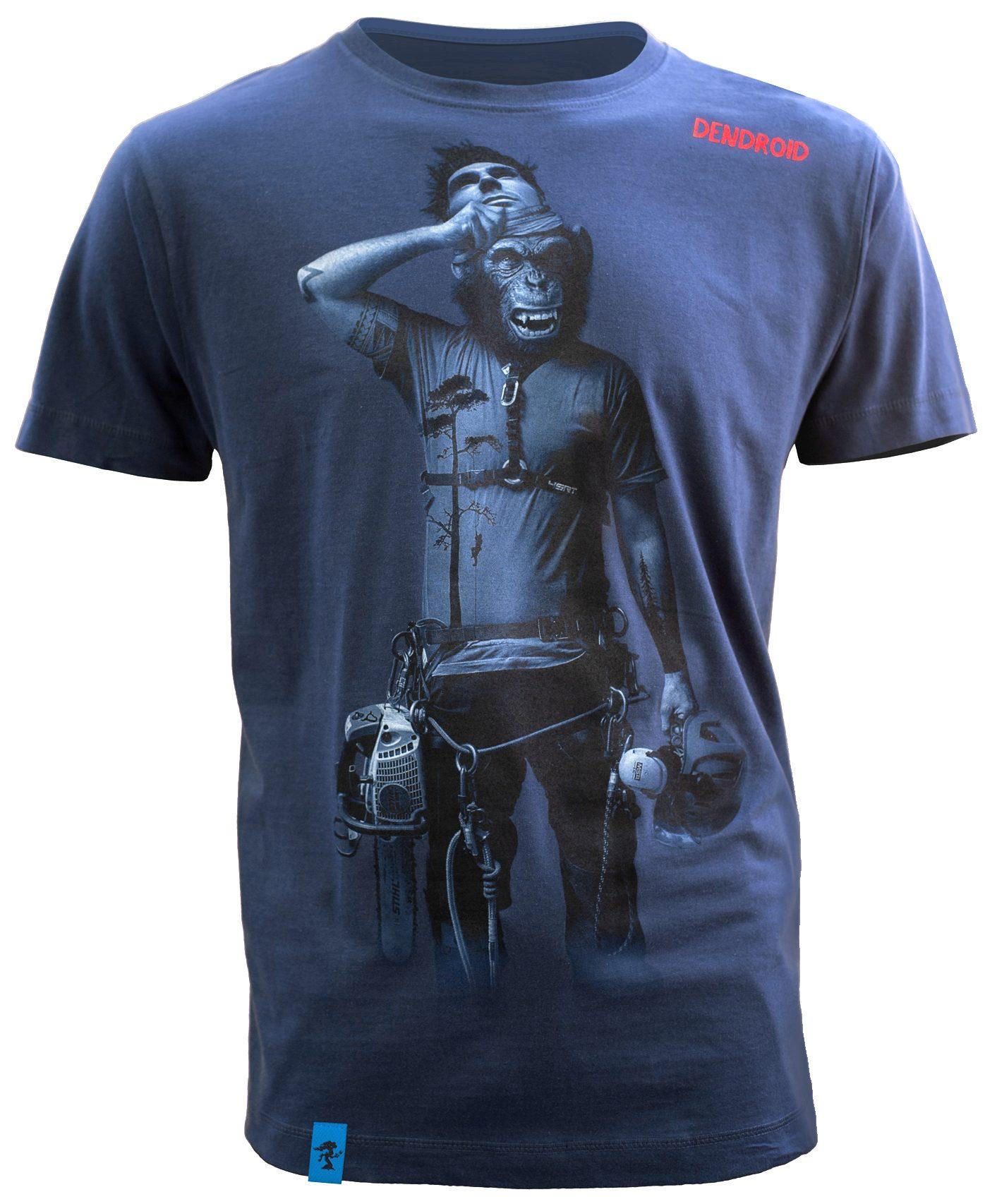 Sprzęt arborystyczny - odzież dla arborystów - Koszulka Dendroid Face-off