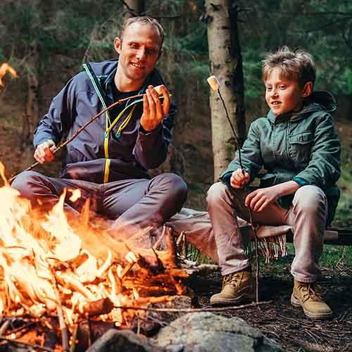 Jak rozpalić ognisko w naturze lub w domu