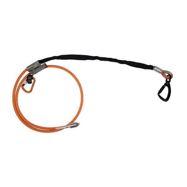 Sprzęt arborystyczny - lonże stabilizacyjne - Tree Runner Stalowa lina pozycjonująca 12mm – EN 358