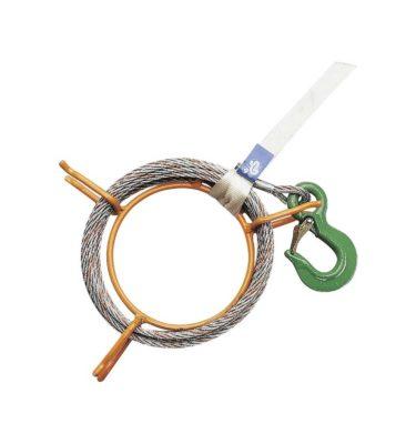 Narzędzia leśne - przeciągarki - HIT 6: szpula do liny