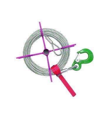Narzędzia leśne - przeciągarki - HIT 10: szpula na linę 25m