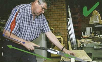 Jak ciąć piłą do drewna Silky? Poprawny sposób