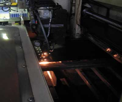 Piły Silky - technologia - wycinanie kształtu laserem