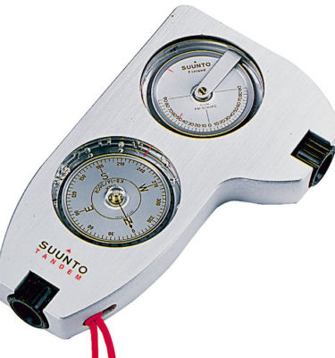 Narzędzia leśne - sprzęt pomiarowy - kompas i pochyłościomierz Suunto - 80-122