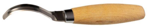 Sprzęt leśny - sprzęt dla cieśli - sprzęt dla stolarzy - dłuto snycerskie łyżkowe Mora - ostrze dwustronne