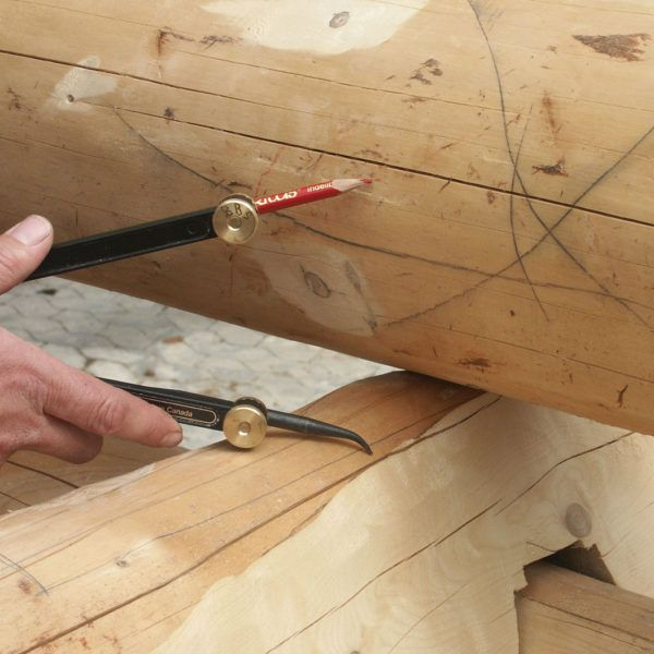 Sprzęt leśny i ogrodniczy - sprzęt ciesielski - cyrkiel do drewna Veritas - 10-092