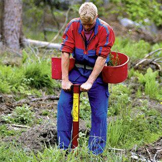 Szpadle, łopaty i inne narzędzia do prac leśnych