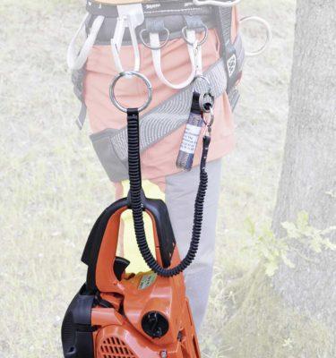 Sprzęt leśny - sprzęt arborystyczny - drzewołazy - Taśma elastyczna do pilarki Tree Runner do 40 kg