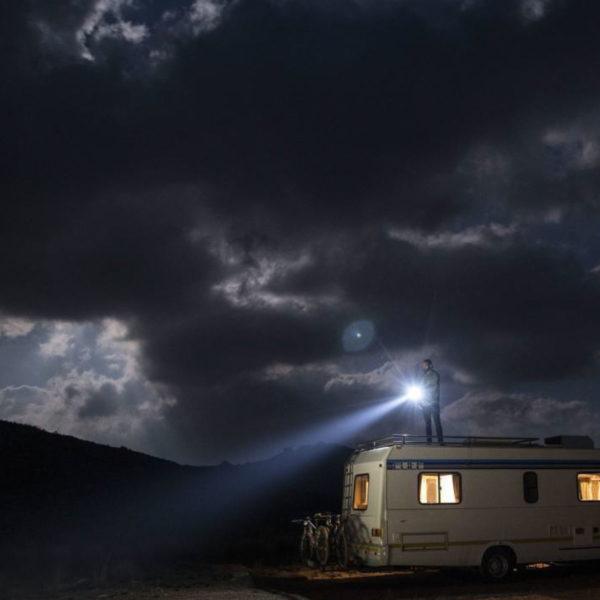 Sprzęt leśny - latarki ledlenser - latarka czołowa MT6