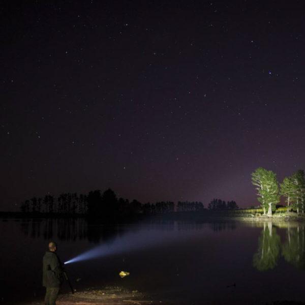 Sprzęt leśny - latarki ledlenser - latarka czołowa MT18