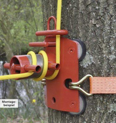 Sprzęt leśny - sprzęt arborystyczny - Hamulec zjazdowy Tree Runner P500 Riggong Poller