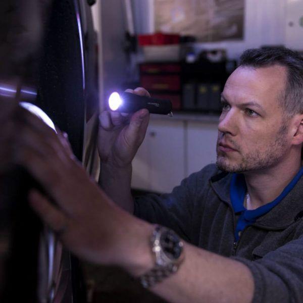 Sprzęt leśny - latarki ledlenser - latarka P17R