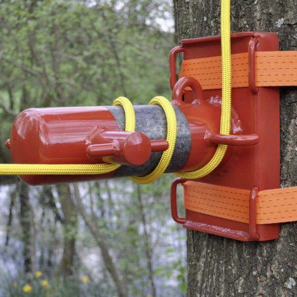 Sprzęt leśny - sprzęt arborystyczny - Hamulec zjazdowy Tree Runner