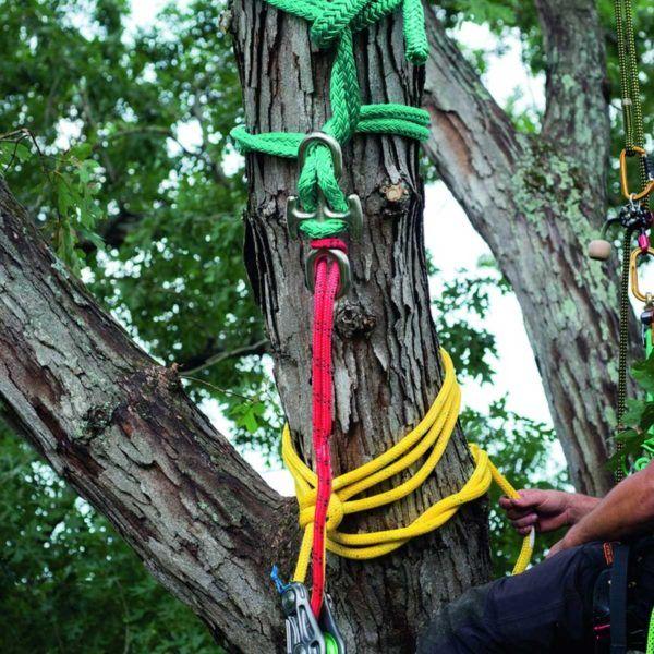 Sprzęt leśny - sprzęt arborystyczny - pasy zabezpieczające do ścinki - Uchwyt Notch 165 kN