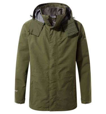 Ubrania dla leśników - Kurtka Craghoppers Męska Exp Kiwi