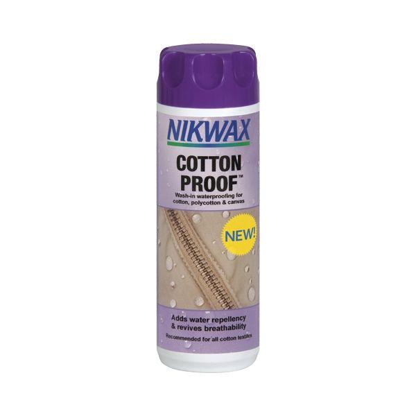 nikwax impregnat cotton proof