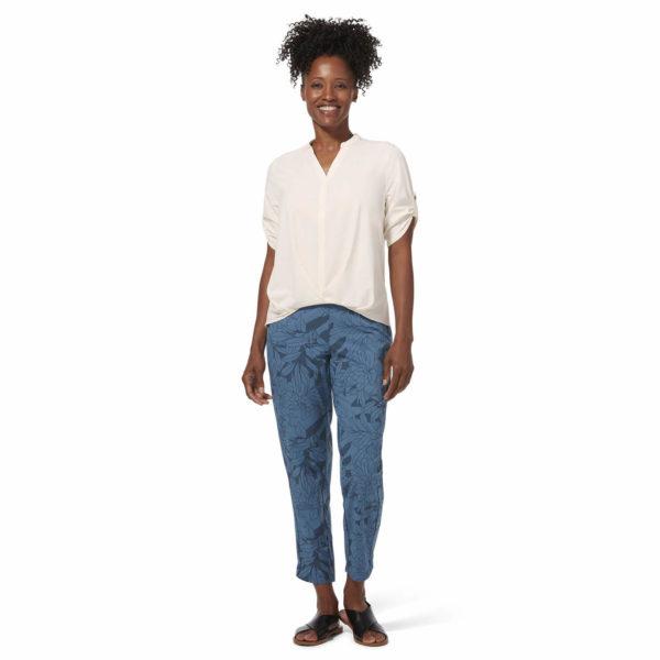 Spodnie damskie Spotless Traveller niebieskie Y324001