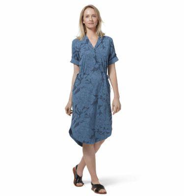 Sukienka Royal Robbins Spotless Traveler Dress niebieska Y326007